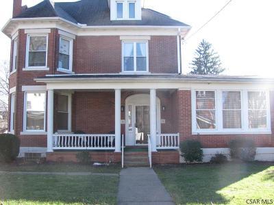Rental For Rent: 321 Luzerne Street, 2nd Fl. Rear #2nR