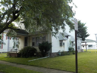 Bloomsburg Single Family Home For Sale: 568 W 3rd Street