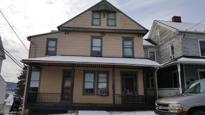 Bloomsburg PA Multi Family Home For Sale: $89,000
