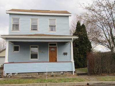 Danville Single Family Home For Sale: 205 Grand St