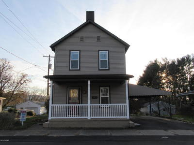 Danville Single Family Home For Sale: 300 W Mahoning St