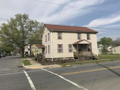 Northumberland PA Multi Family Home For Sale: $78,900