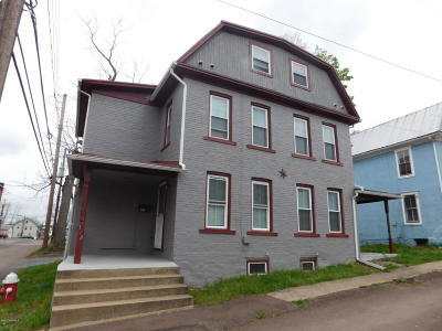 Bloomsburg Multi Family Home For Sale: 138-140 Murray Avenue