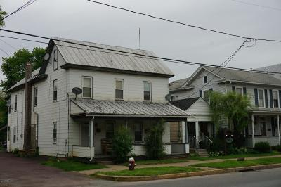 Bloomsburg Multi Family Home For Sale: 531 W Main Street
