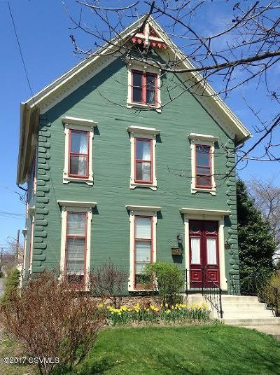 Bloomsburg PA Single Family Home For Sale: $190,000