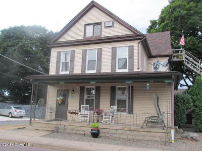 Bloomsburg Multi Family Home For Sale: 129 W. 9th Street