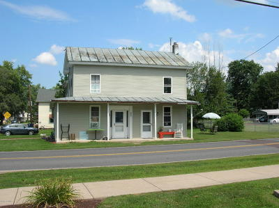 Bloomsburg PA Single Family Home For Sale: $82,900