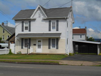 Berwick PA Single Family Home For Sale: $74,500