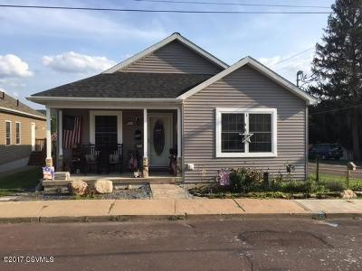 Bloomsburg PA Single Family Home For Sale: $165,000
