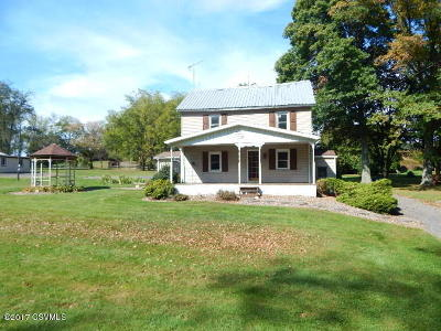 Single Family Home For Sale: 114 Cemetery Hill Road
