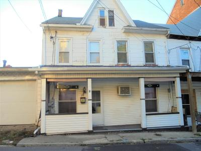 Shamokin PA Single Family Home For Sale: $49,000