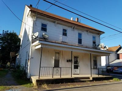 Bloomsburg Multi Family Home For Sale: 315-319 W Pine Ave