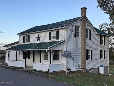 Single Family Home For Sale: 1030 Hetlerville