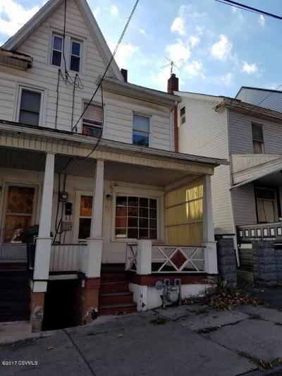 Single Family Home For Sale: 834 W Pine St.