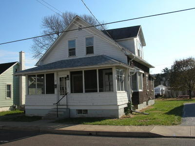 Bloomsburg Single Family Home For Sale: 262 East 9th