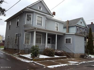 Berwick PA Single Family Home For Sale: $52,500