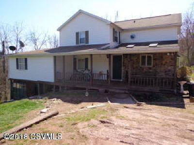 Bloomsburg Single Family Home For Sale: 2280 Crawford Rd
