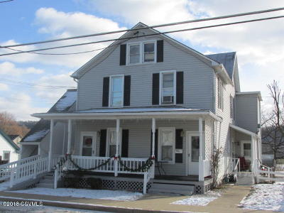 Bloomsburg PA Multi Family Home For Sale: $154,900
