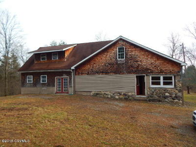 Single Family Home For Sale: 64 Moose Hollow Lane