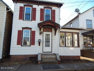 Single Family Home For Sale: 539 Line Street