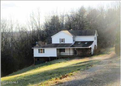 Bloomsburg PA Single Family Home For Sale: $89,400