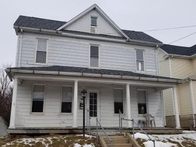 Bloomsburg PA Single Family Home For Sale: $124,900