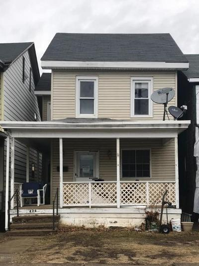 Single Family Home For Sale: 424 Race St