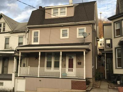 Shamokin PA Single Family Home For Sale: $75,000
