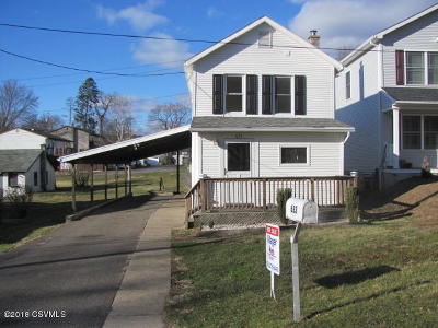 Danville Single Family Home For Sale: 633 Clinton Street