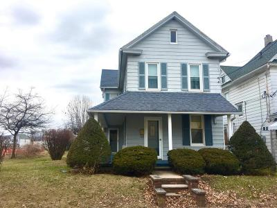 Berwick PA Single Family Home For Sale: $75,000