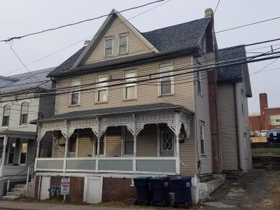 Bloomsburg Multi Family Home For Sale: 110 114 Iron Street