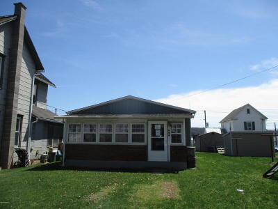 Bloomsburg PA Single Family Home For Sale: $78,000