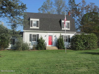 Bloomsburg Single Family Home For Sale: 1142 Lightstreet Road