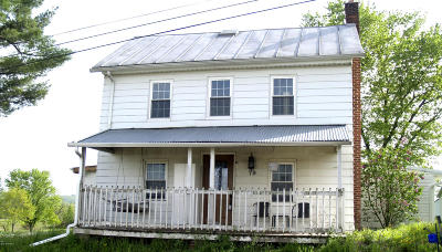 Bloomsburg PA Single Family Home Active Contingent: $79,900