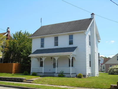 Nescopeck PA Single Family Home For Sale: $85,000
