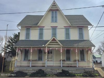 Single Family Home For Sale: 1108 Water Street