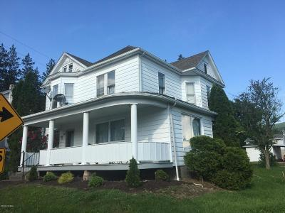 Catawissa PA Multi Family Home For Sale: $85,000