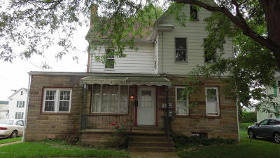 Bloomsburg Single Family Home For Sale: 604 W 3rd Street