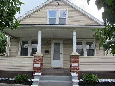 Single Family Home For Sale: 226 Raseley Street
