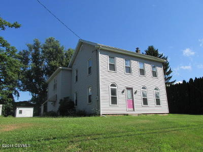 Bloomsburg PA Single Family Home For Sale: $125,000