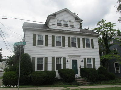 Bloomsburg Single Family Home For Sale: 403 Catherine Street