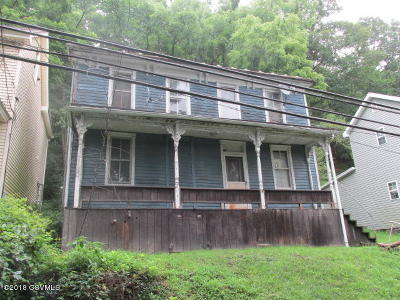 Bloomsburg PA Single Family Home For Sale: $25,000