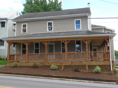 Single Family Home For Sale: Old Turnpike Road