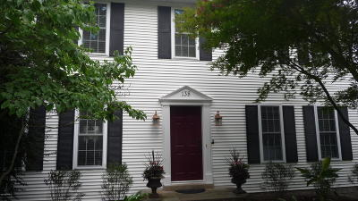 Single Family Home For Sale: 138 Hilltop Road