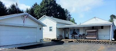 Bloomsburg PA Single Family Home Active Contingent: $132,500