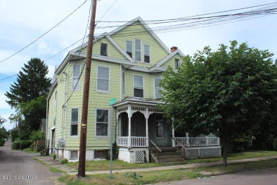 Bloomsburg PA Multi Family Home For Sale: $89,900