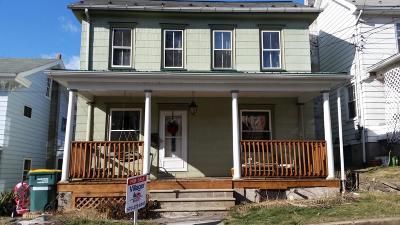 Single Family Home For Sale: 89 Catawissa Avenue