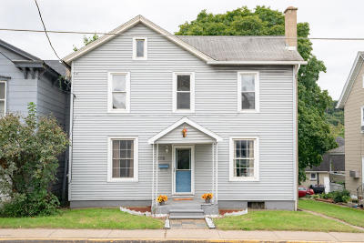 Catawissa PA Single Family Home For Sale: $129,000