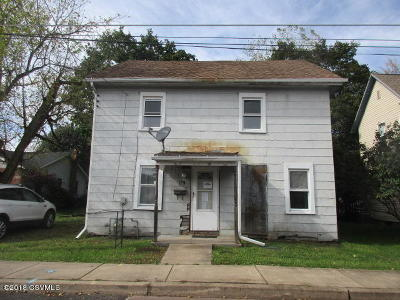 Bloomsburg Single Family Home For Sale: 179 W 9th Street