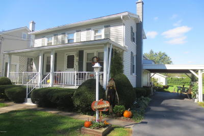 Bloomsburg Single Family Home Active Contingent: 2557 2nd Street
